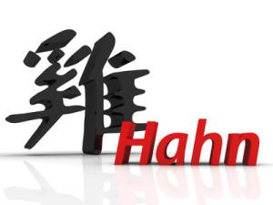 Chin. Hahn